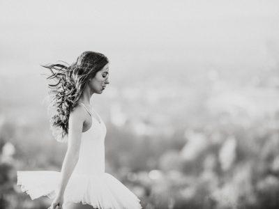 Sunset Ballerina Shooting