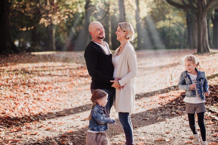 Familienfotos Bochum Stadtpark im Herbst