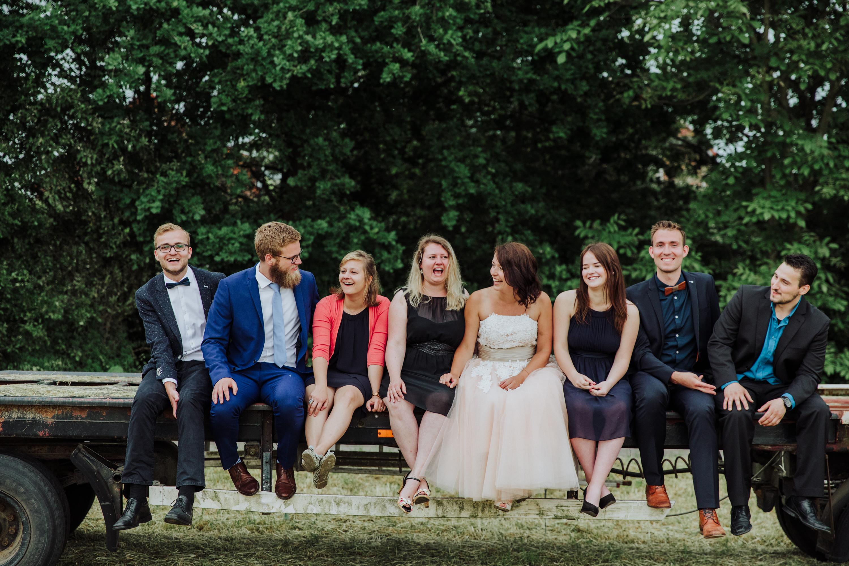 Familienfoto, After Wedding Shooting, Hochzeitsfotograf Bochum, Scheunenhochzeit